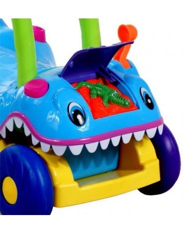 Muzikinis stumdukas - mašinėlė Krokodilas