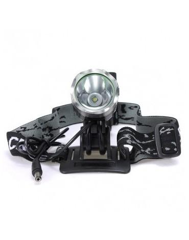 LED galingas dviračio žibintas CREE XM-L T6