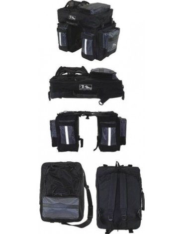 3 dalių 62l turistinis krepšys ant bagažinės